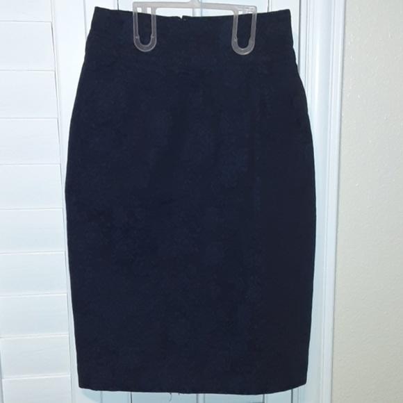 Marc Jacobs Dresses & Skirts - 💎 Marc Jacobs Pencil Floral Denim Skirt